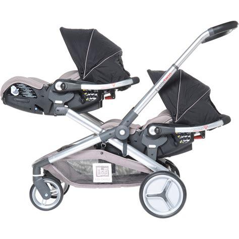siege auto jumeaux poussette jumeaux evolutwin avec sièges auto rc2 noir de