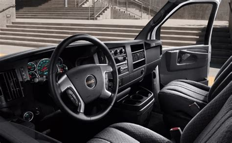 gmc savana diesel interior van gmc specs news