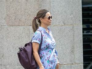 Baby Bump Alert Pippa Middleton Steps Out In London