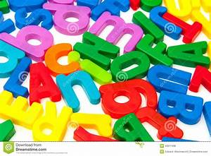 bright plastic alphabet letters stock photo image of With plastic abc letters