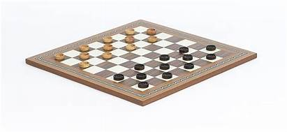 Checkers Board Mosaic Wood Standard Above Sets