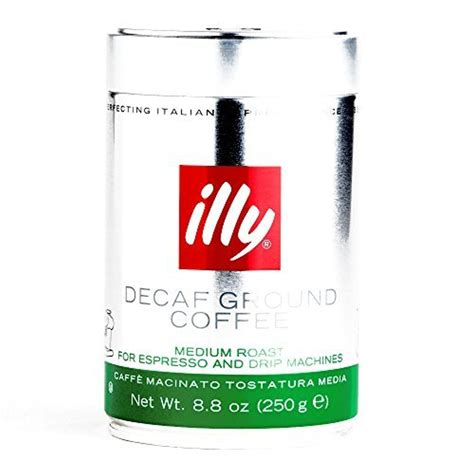 I am desperately looking for illy ground coffee in the silver tin. Illy Decaf Medium Roast Ground Coffee 8.8 oz each (3 Items Per Order) by Illy -- Awesome ...