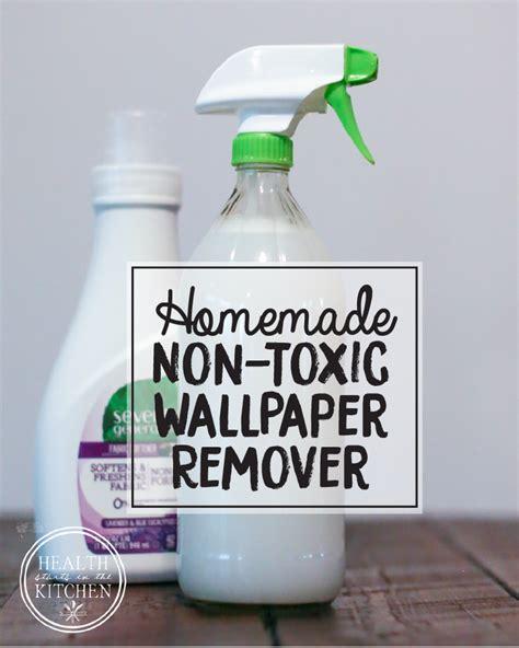 Diy Homemade Nontoxic Wallpaper Remover Spray Health