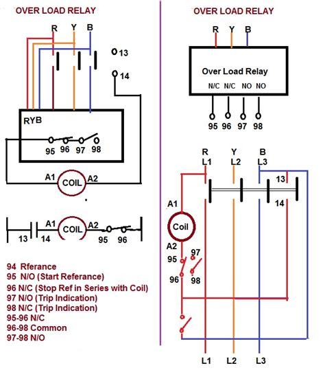 contactor relay coil wiring diagram elec eng world