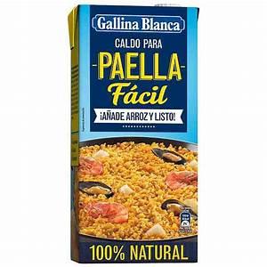 Caldo para paella fácil Gallina Blanca 1l saborAcasa net