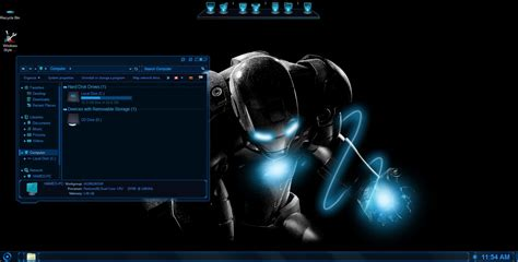 anime keren complete jarvis skinpack for win7 8 8 1 skin pack customize