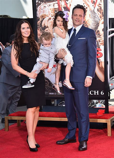 Vince Vaughn is joined by his family for Hollywood ...