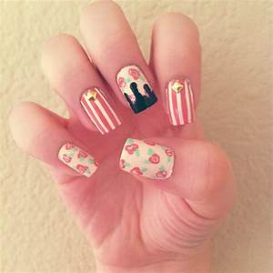 20 Beautiful Floral Nail Designs With Vintage Glamour ...