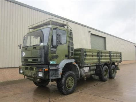 Iveco 260e37 Eurotrakker 6x6 Cargo Flat Bed Trucks For