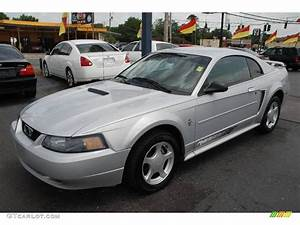 2002 Satin Silver Metallic Ford Mustang V6 Coupe #15717307 | GTCarLot.com - Car Color Galleries