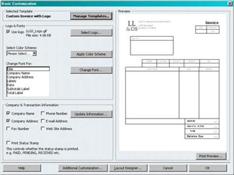quickbooks invoice customize your quickbooks invoices