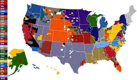 nfl fans map business insider