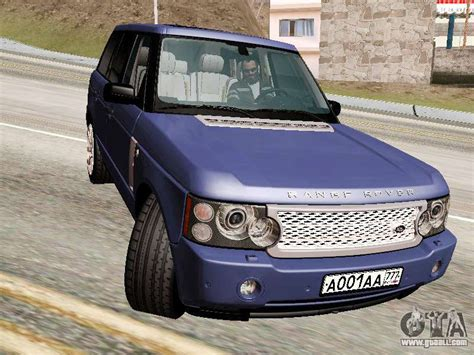 Stock Supercharged Cars by Land Rover Supercharged Stock 2010 V2 0 For Gta San Andreas