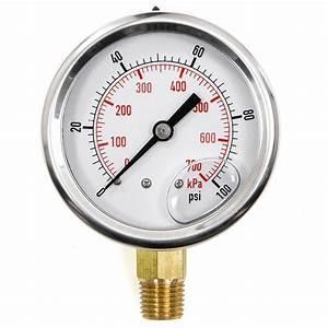 Pool Spa Filter Water Pressure Gauge 0