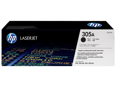 hp laserjet 305a black ce410a hp 305a black original laserjet toner cartridge ce410a