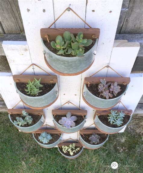 wooden succulent planter succulent planters from light fixtures my 2 create