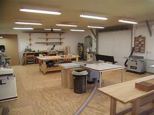 Wood Shop Layout Ideas If you want to learn wood working ...