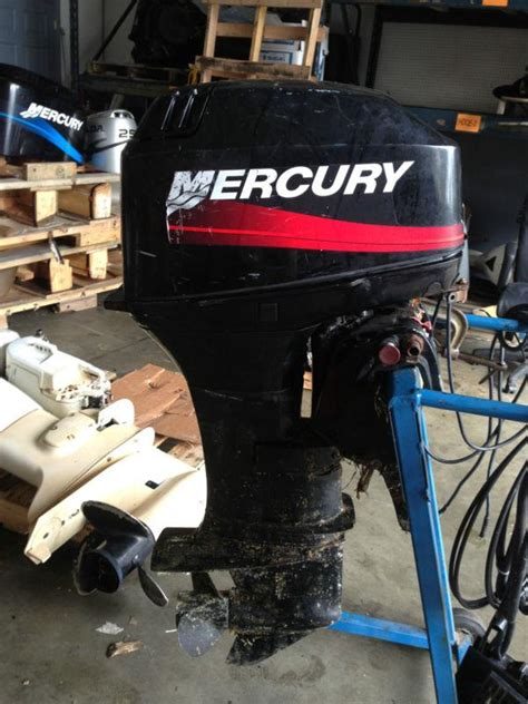 buy 2002 mercury 30 hp outboard boat motor 20 quot injected 20 25 40 50 elo motorcycle in