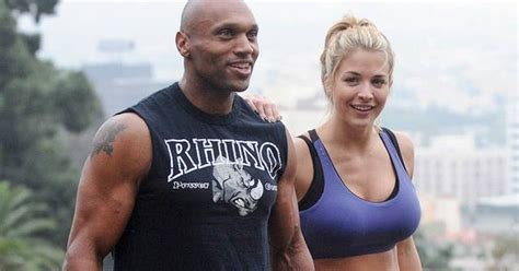 Gemma Atkinson and Liam Richards — Training in Hollywood ...