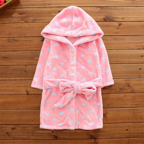 robe de chambre fille 16 ans gallery of enfants peignoir garons filles polaire pyjama