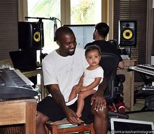 Kim Kardashian Shares Snap of Baby North Joining Daddy ...