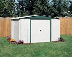 arrow hamlet 10 x 8 steel storage building at menards 174