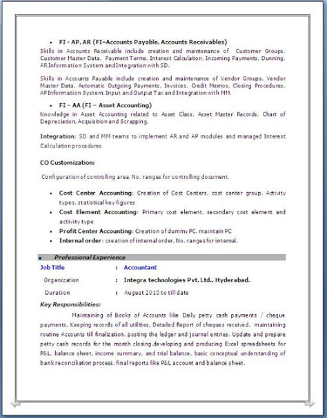 sap bw resume 5 years experience sap fico resume 3 years experience
