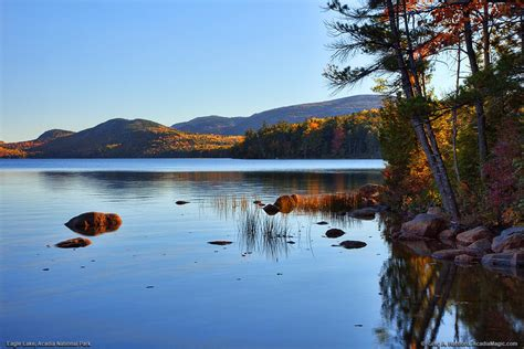 Eagle Lake Photos Acadia National Park Set 2