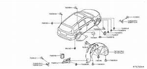 Nissan Pathfinder Grommet Rubber  Patch  Plug 12  Body