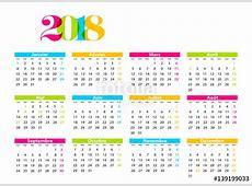 Calendrier Janvier 2018 imprimer Calendrier 2018 t