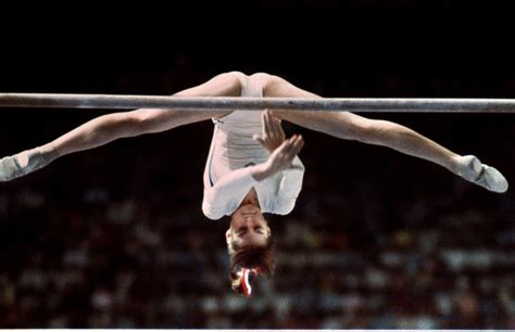 Comaneci 10 Vault by Olympics Best Moments In Pictures Hellomagazine