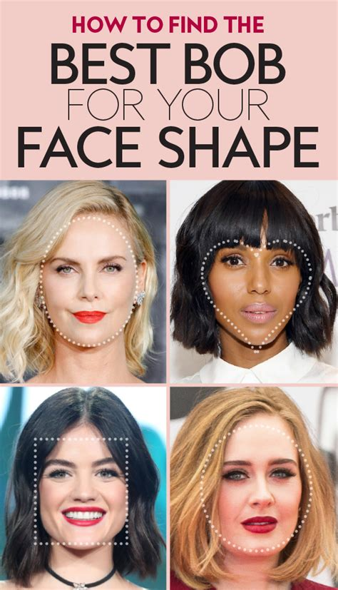bob haircut   face shape instylecom
