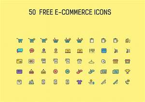 50 Free Ecommerce Icon Vector Set
