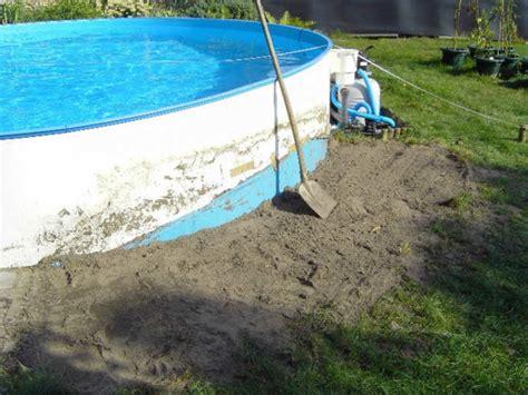 garten pool selber bauen eine verblueffende idee