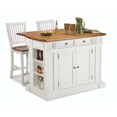 white kitchen island with seating home styles americana white kitchen island with seating