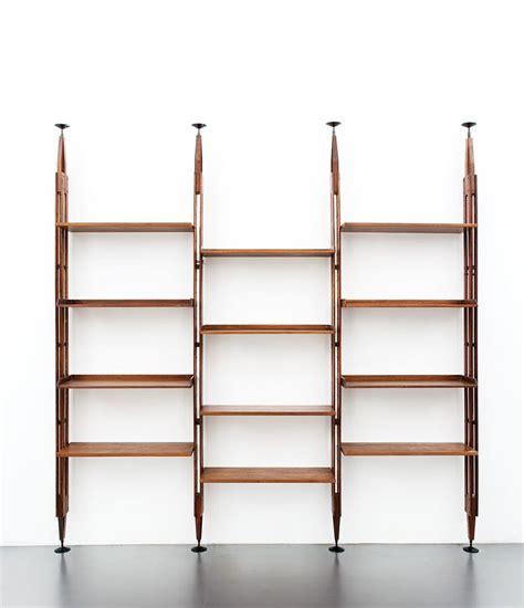 Mensole Autoportanti by Franco Albini Libreria Mod Lb7 Montanti In Legno Di