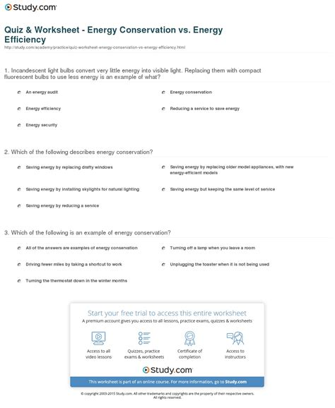 worksheets conservation of energy worksheet answer key