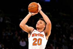 Kevin Knox has been shooting well from 3
