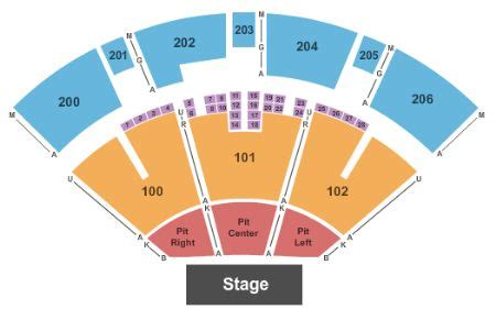 PNC Pavilion Riverbend Music Center Seating Chart