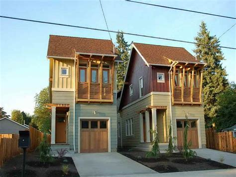 House Plans Narrow Lot With
