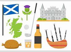 Scotland Elements Vector Illustration Download Free