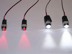 Led Beleuchtung Mit Batterie : led beleuchtung f r kinder autos rutscher elektro tret komplettset 2x weiss 2x rot 50cm kabel ~ Whattoseeinmadrid.com Haus und Dekorationen