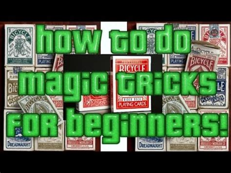 You will find that they will amaze older children as well as adults. how to do magic card tricks for beginners MUST SEE #magicforbeginners - YouTube