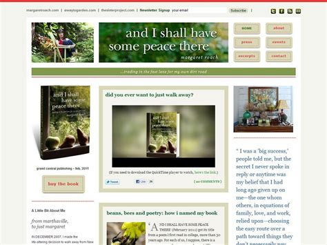 And I Shall Some Peace There Book Gardening And by Quot A Way Quot To Use Multi Site Webdevstudios