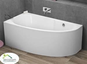 Acryl Badewanne Reinigen : badewanne wanne eckwanne acryl 140 x 70 cm sch rze ablauf ~ Lizthompson.info Haus und Dekorationen