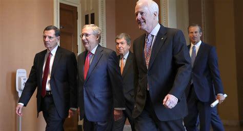 senate republicans brace  leadership scramble politico