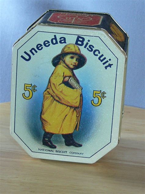 Uneeda Biscuit Tin   Can   National Biscuit Company   MG