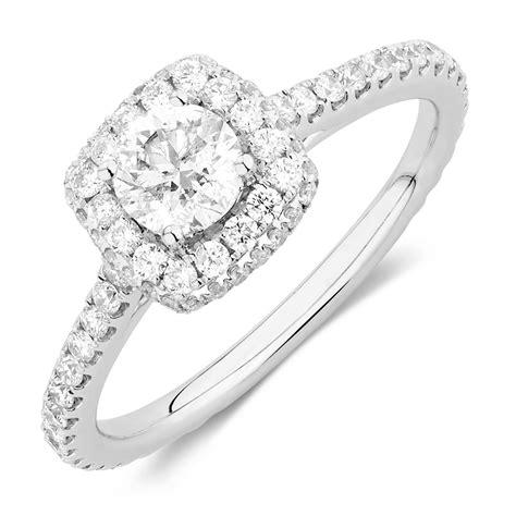 sir michael hill designer grandallegro engagement ring with 1 15 carat tw of diamonds in 14ct