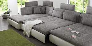 Sofa In U Form : wohnlandschaft xxl u form haus ideen ~ Markanthonyermac.com Haus und Dekorationen