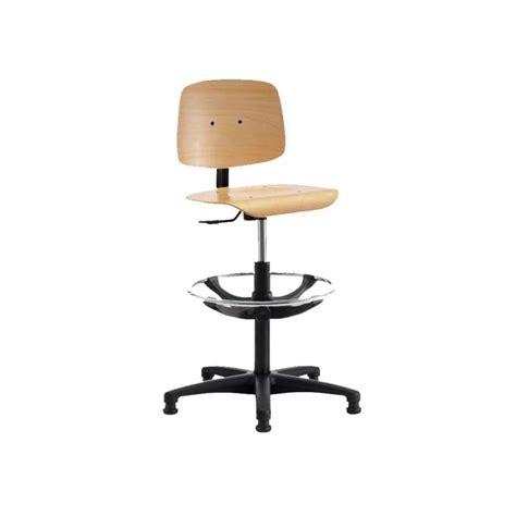 chaise reglable chaise d 39 atelier réglable en bois tecnik 4 pieds